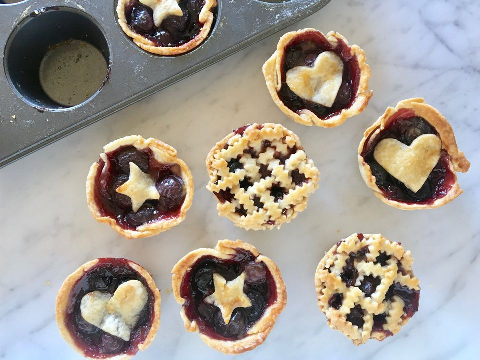 Muffin Tin Cherry Pies