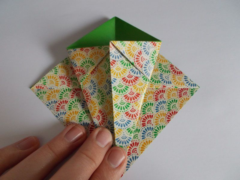 How to make origami paper baskets for easter origami easter basket sciox Gallery