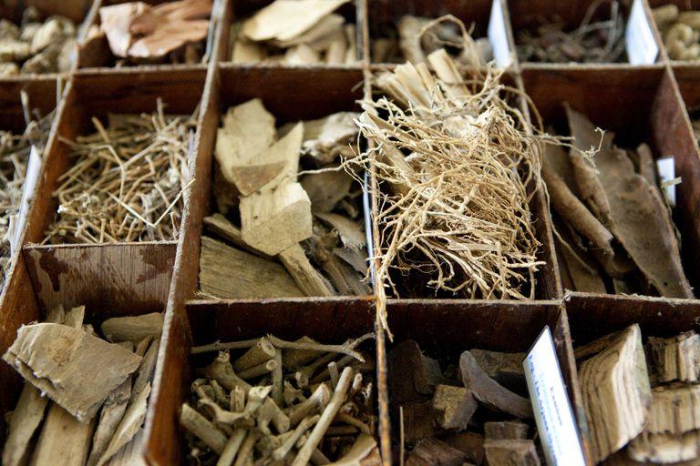 ayurvedic herbs in box