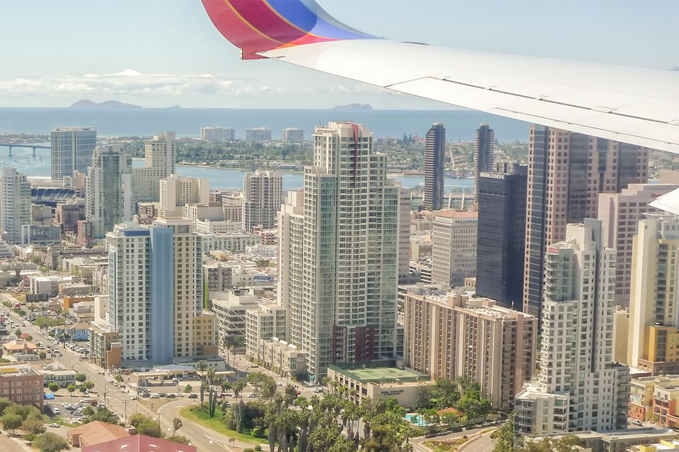 Downtown San Diego from the Air