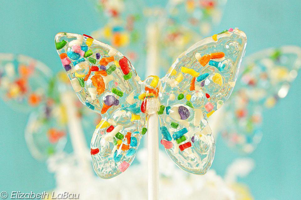 Funfetti Lollipops
