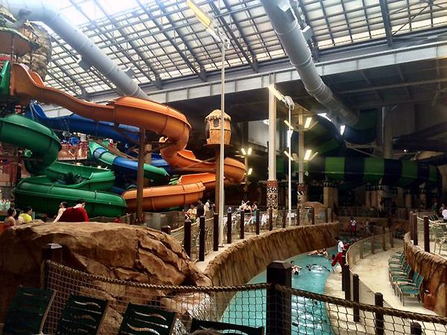 Guide to the Kalahari Pocono Mountains Indoor Water Park