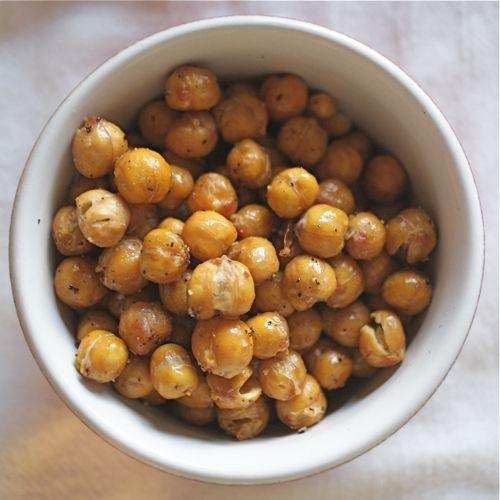 Roasted Chickpeas (a.k.a. Garbanzo Beans)