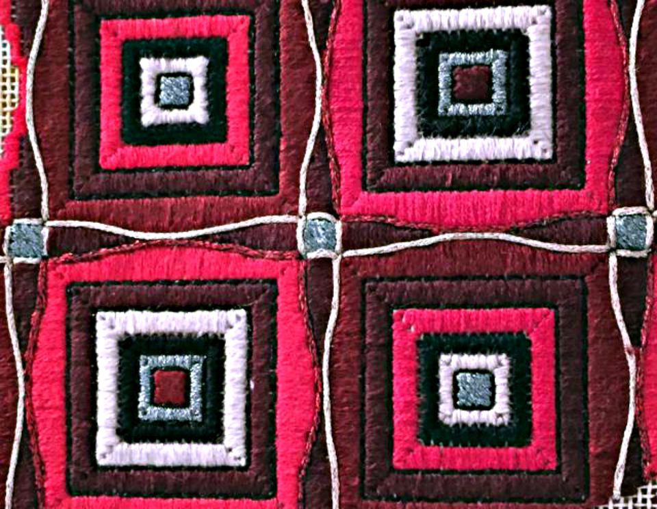 Needlepoint Couching-Surface Embroidery