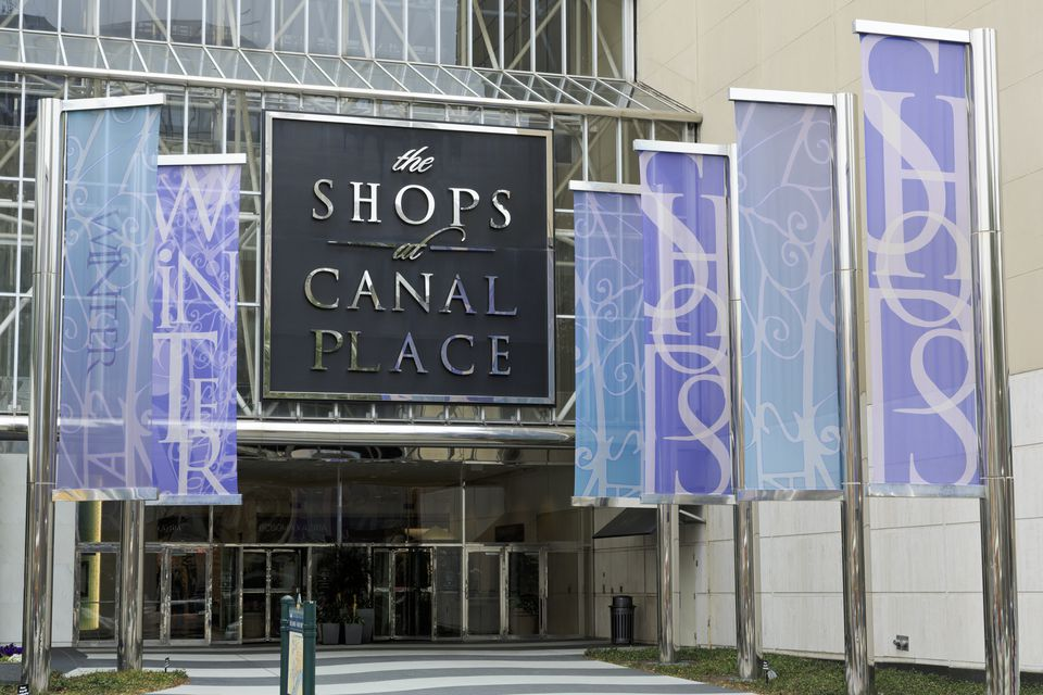 Canal Place Shops, New Orleans, Louisiana