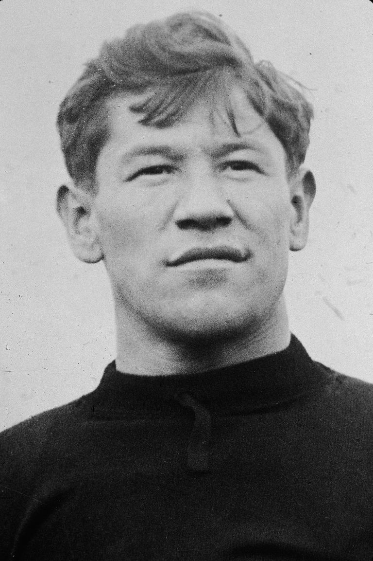 A picture of Jim Thorpe, one of the greatest athletes of all time.