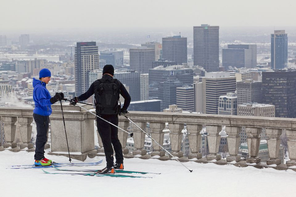 Montreal cross country skiing trails and destinations.