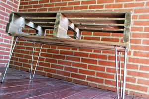11 free diy tv stand plans you can build right now for Diy pallet tv stand instructions