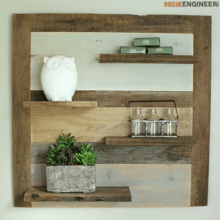 12 Free Shelf Plans to Spruce Up Your Home