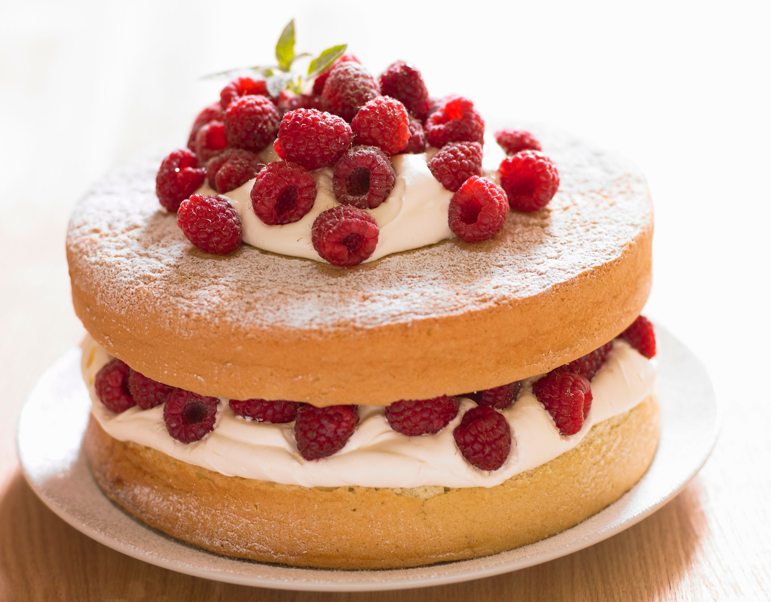 Light And Airy Sponge Cake Recipe