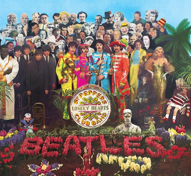 Sgt. Peppers Lonely Hearts Club Band Front Cover Image