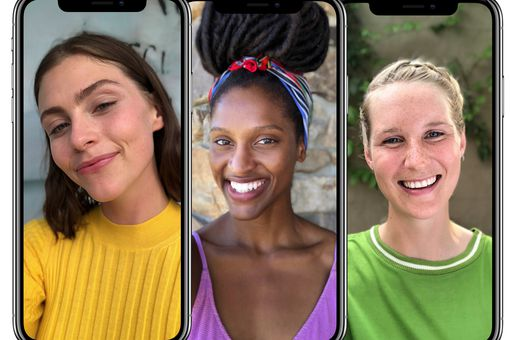 Face ID on iPhone