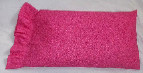Sew a pillowcase with a ruffle