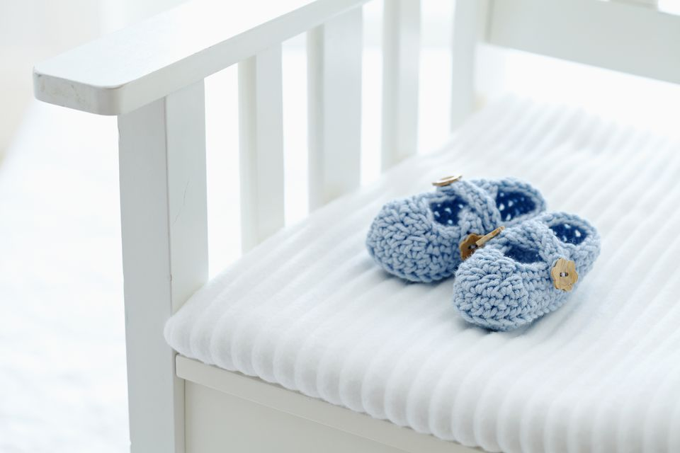 15 adorable baby bootie crochet patterns ccuart Choice Image