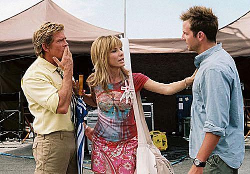 Thomas Haden Church, Sandra Bullock and Bradley Cooper in All About Steve