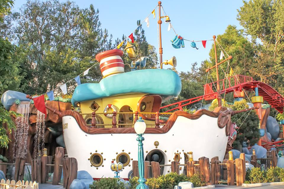 Donald's Boat in Toontown