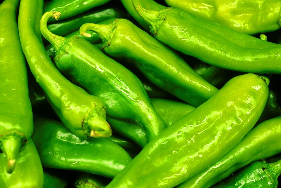 Anaheim Chile Peppers