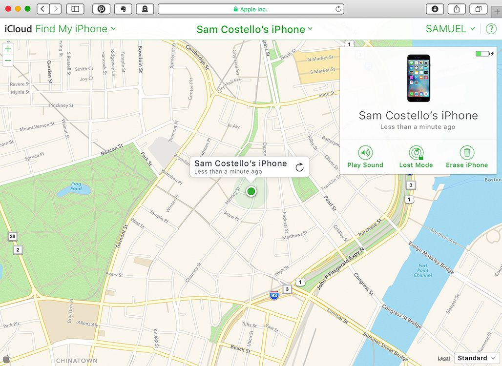 how to use find my iphone how to use find my iphone to locate a lost phone 1366