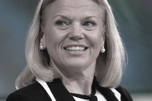 Ginni Rometty of IBM in 2011 during
