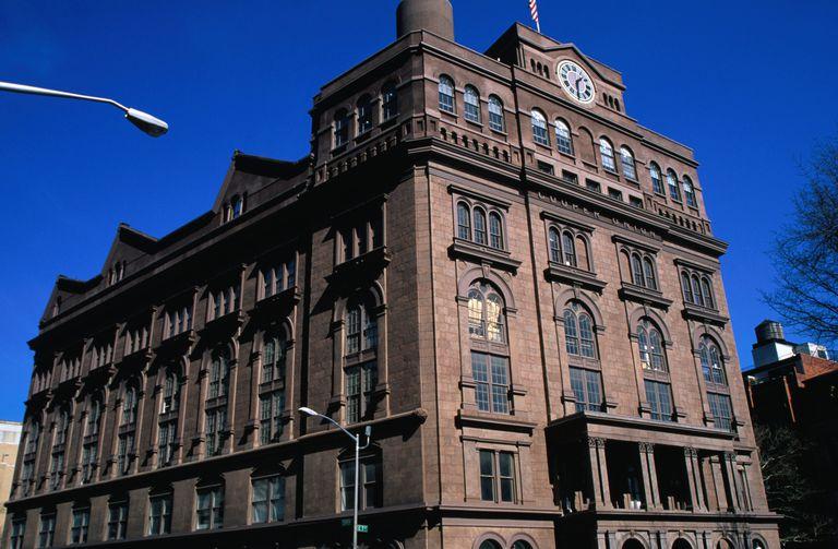 Cooper Union building, East Village.