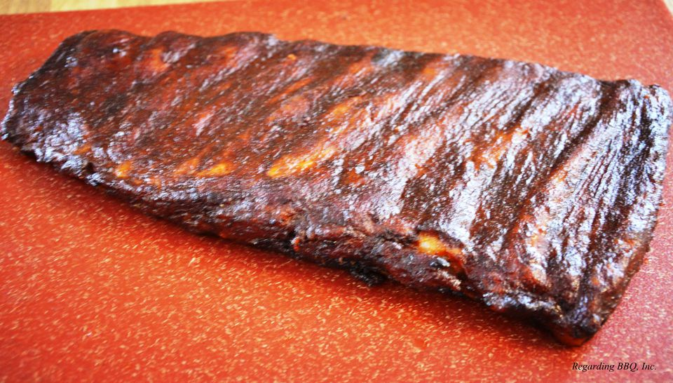 Finished Rack of Ribs