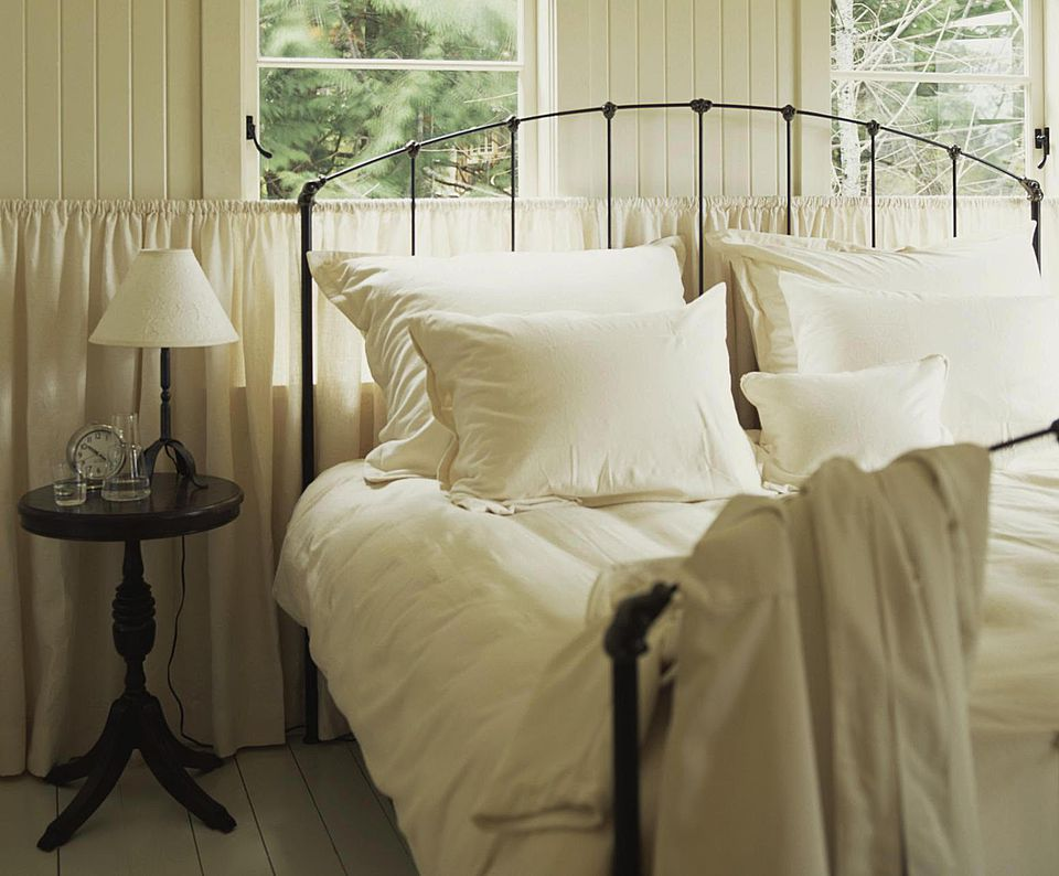 Learn the names of popular bedding items.