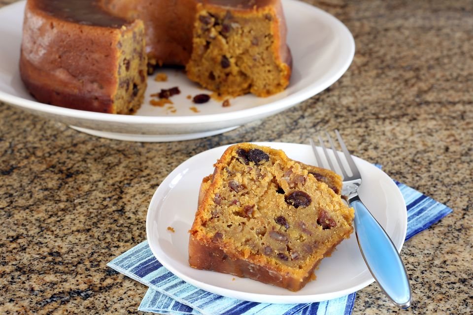 bourbon pecan sweet potato cake
