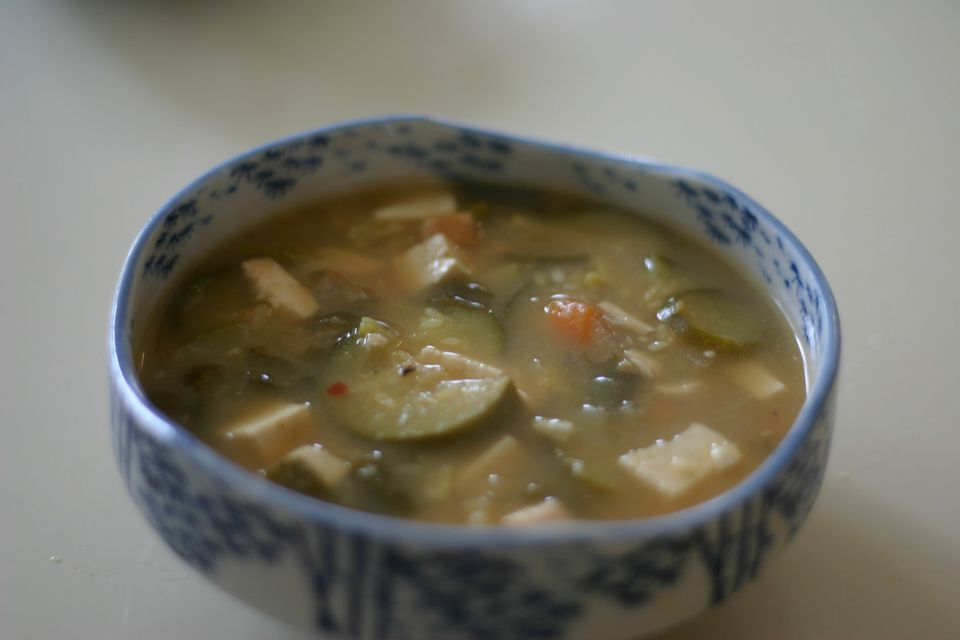 Korean Bean Paste Stew (Daenjang Chigae)