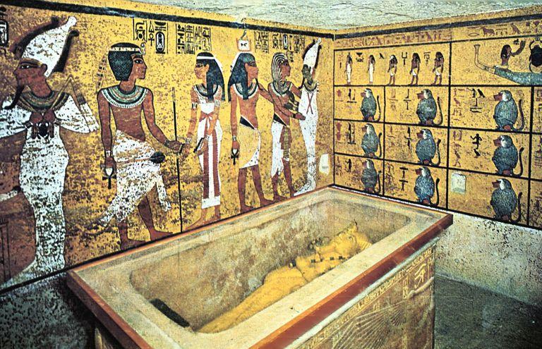Tomb of Tutankhamun, Ancient Egyptian, 18th Dynasty, c1325 BC.