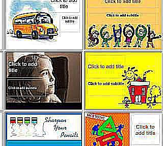 Microsoft powerpoint templates for school k 12 powerpoint templates from brainy betty toneelgroepblik Image collections