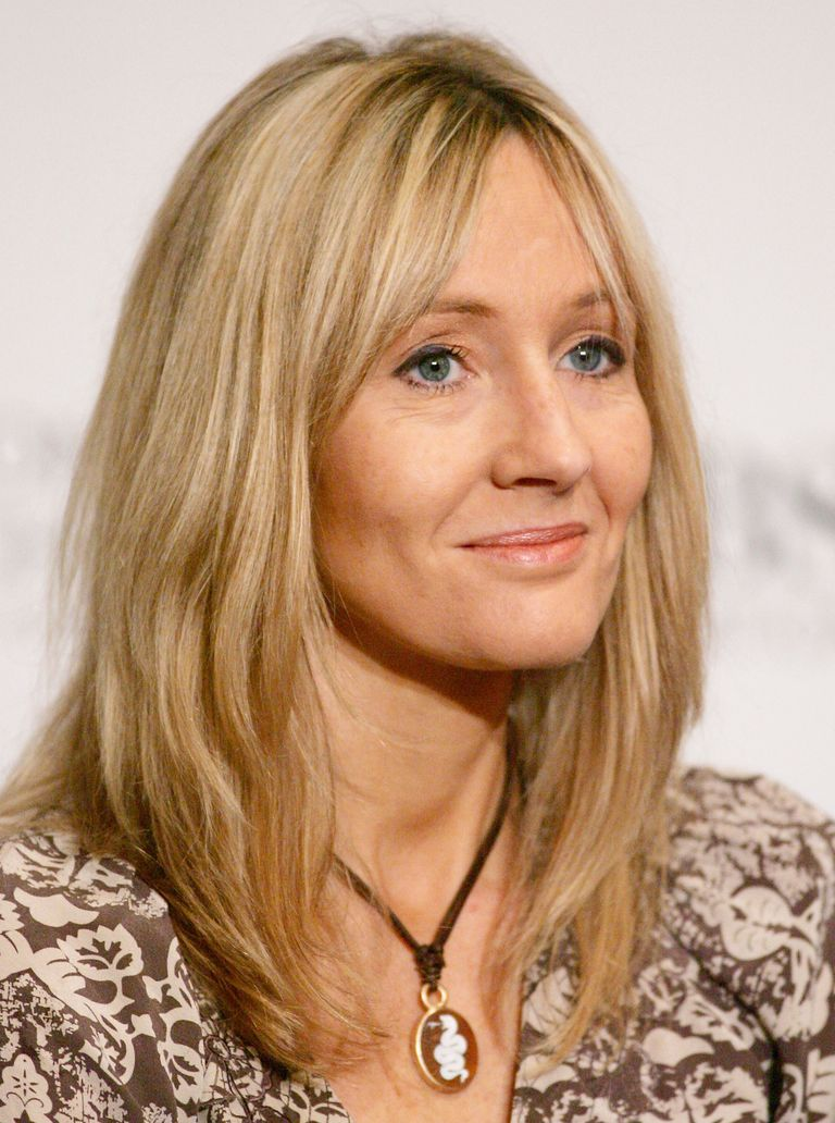 Picture of J. K. Rowling, author of the Harry Potter series.