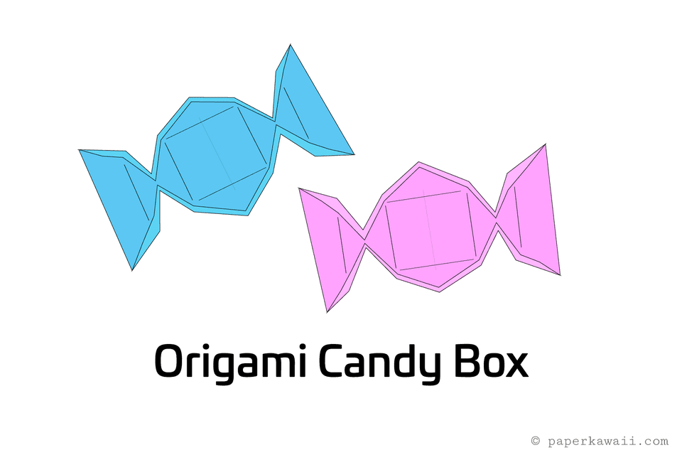 origami candy box 1