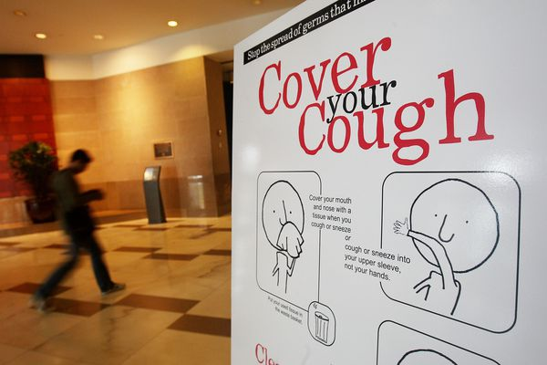 Cover your Cough to prevent germs from spreading.