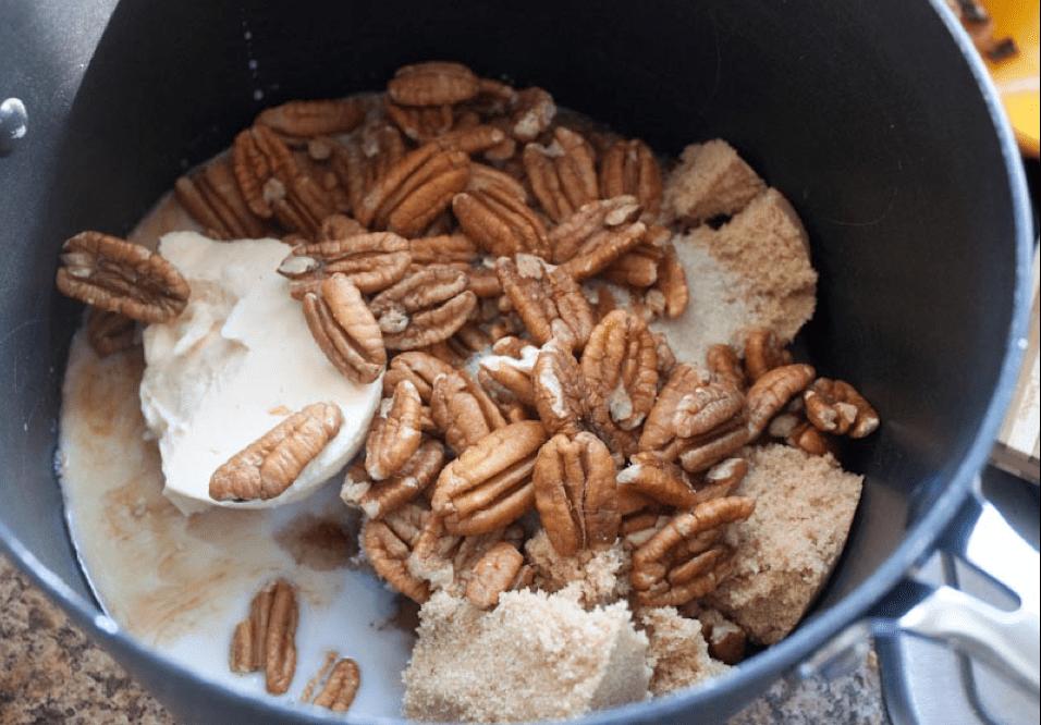 Vegan Pralines Ingredients