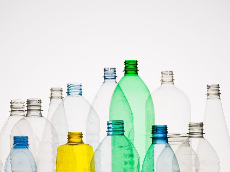 Many of the containers you use are made from plastic, a synthetic organic polymer.