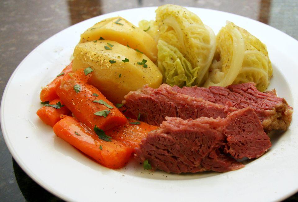 corned-beef dinner