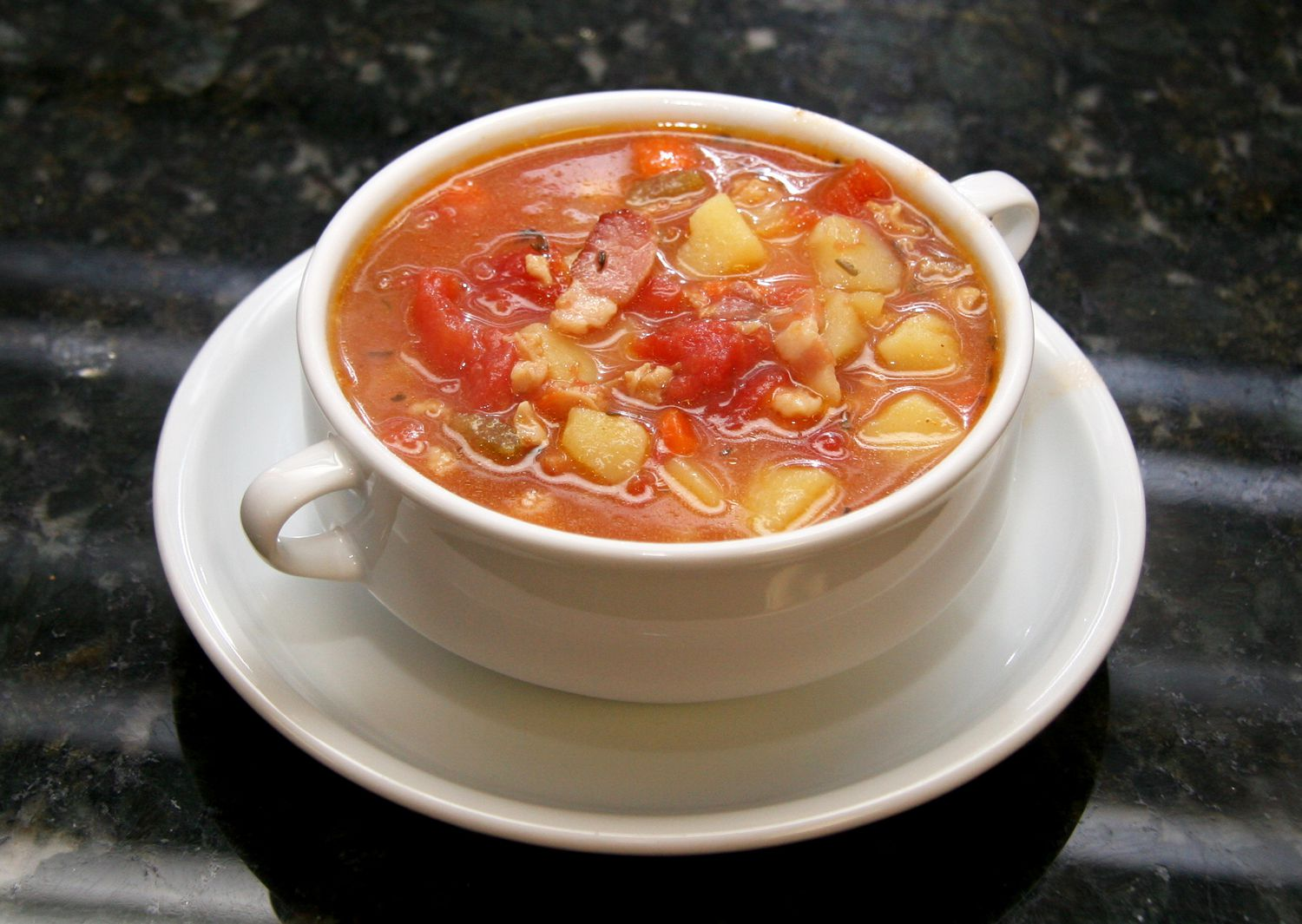 Slow cooker manhattan style clam chowder recipe for Crockpot fish chowder