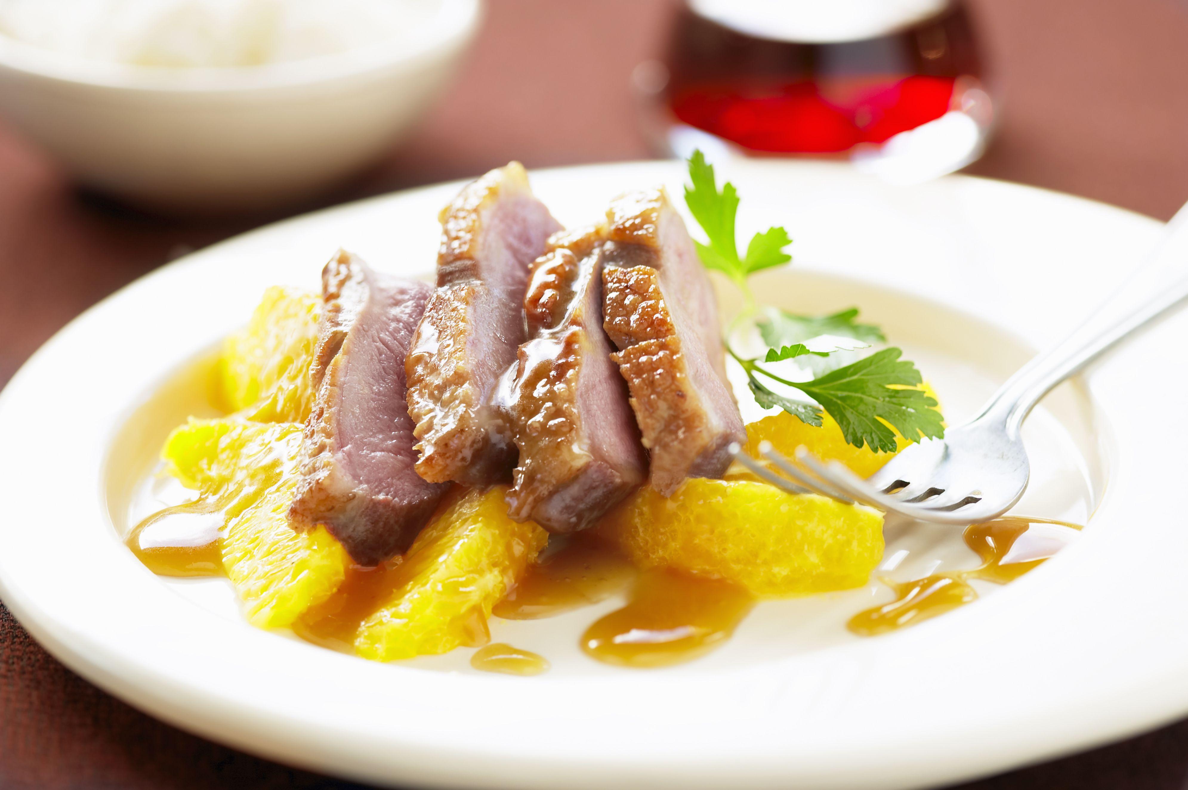 Easy Classic French Duck A L Orange Recipe