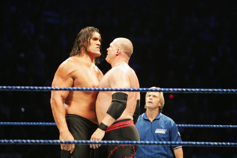 The great khali timeline of the career of the wwe superstar great kahli vs kane in 2008 voltagebd Image collections