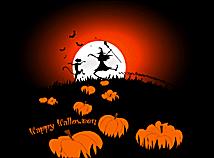 Halloween Night Silhouettes - Halloween Screen Savers for Macs