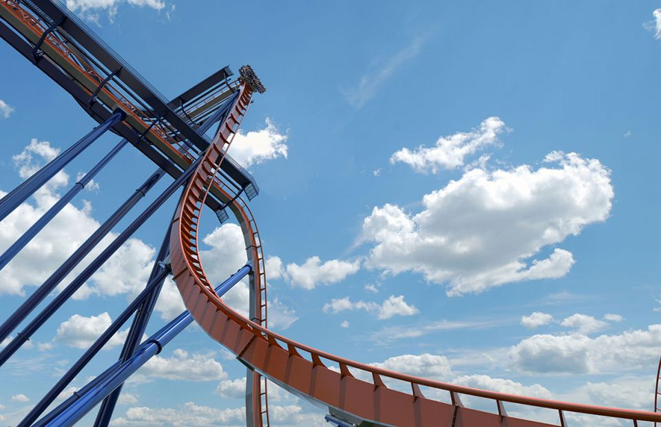 Valravn - Preview of drop from ground on Cedar Point's 2016 Roller Coaster