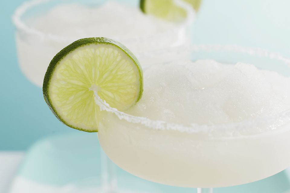 Frozen Lime Margarita Cocktail