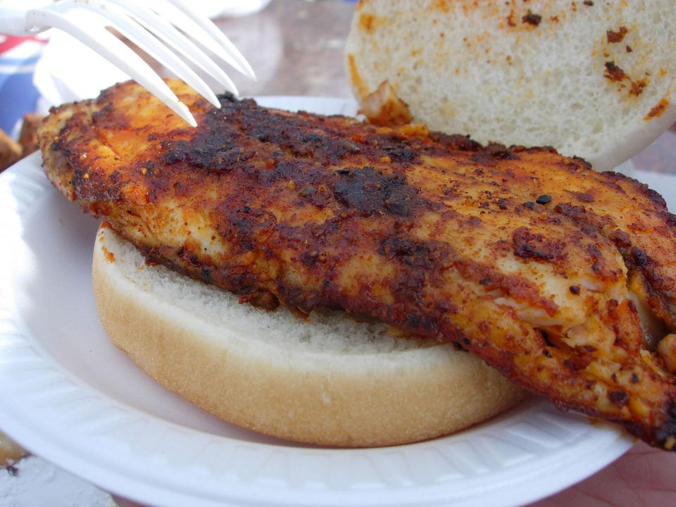 Cajun Fish Sandwich 06.10.07