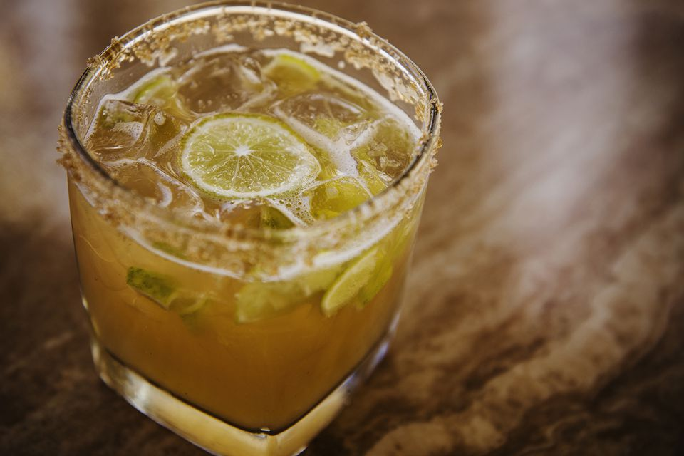 Bounce Sporting Club's New England Sour Cocktail Recipe with Stoli Elit Vodka