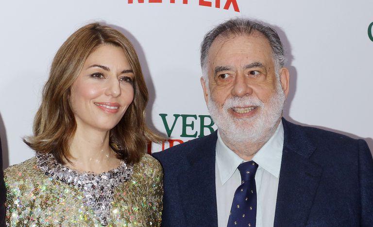 Sofia and Francis Ford Coppola