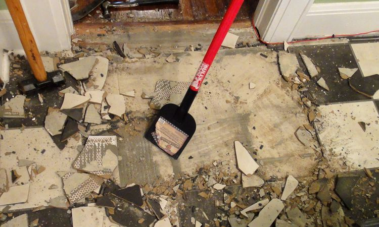 Tile Removal Tools for Ceramic Floors