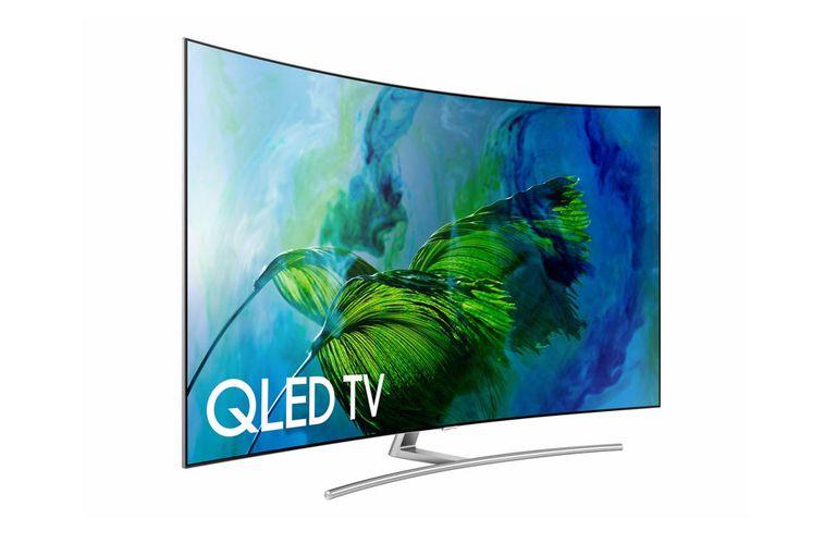 Samsung Q8C Series Curved Screen QLED 4K Ultra HD TV