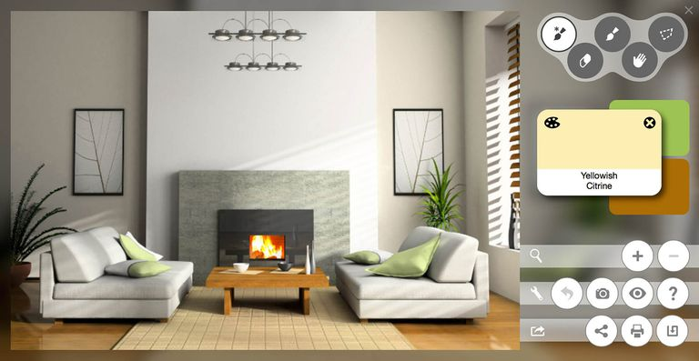 Paint color match apps tools to help you choose for Free room design help