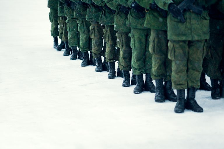 Rank of Russian soldiers