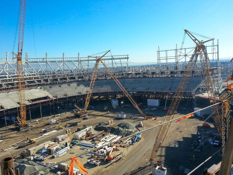 49ers Levi's Stadium Steel Work